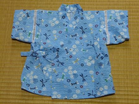 赤ちゃんの甚平 (Jくん用) 2