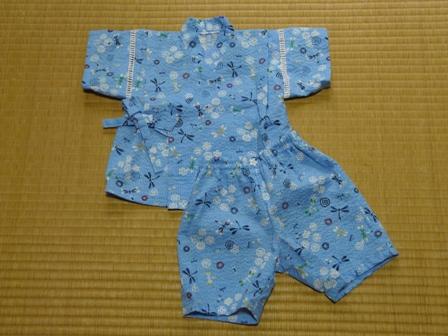 赤ちゃんの甚平 (Jくん用) 1