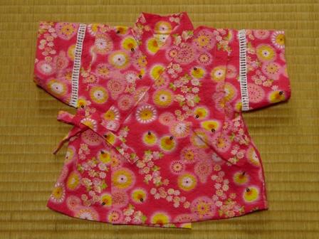 赤ちゃんの甚平 (女の子用) 2