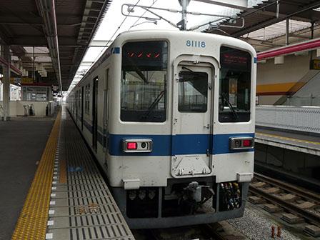 東武鉄道 8000系 栃木駅