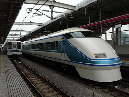 東武鉄道 8000系 & スペーシア 栃木駅