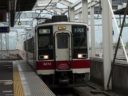 東武鉄道 6000系 栃木駅