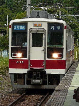 東武鉄道 6000系 会津高原尾瀬口駅