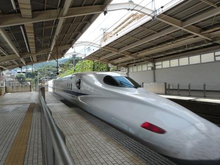 熱海駅 新幹線 2