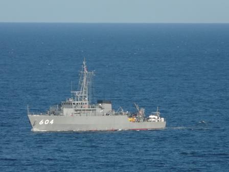 熱海 海上自衛隊 掃海艇 1