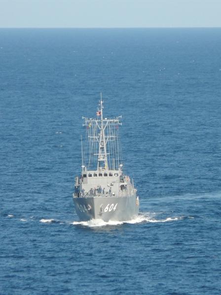 熱海 海上自衛隊 掃海艇 2