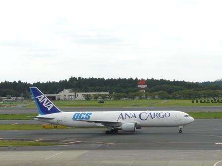 成田空港・見学デッキ ANA CARGO 1
