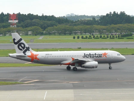 成田空港・見学デッキ ジェットスター航空 1
