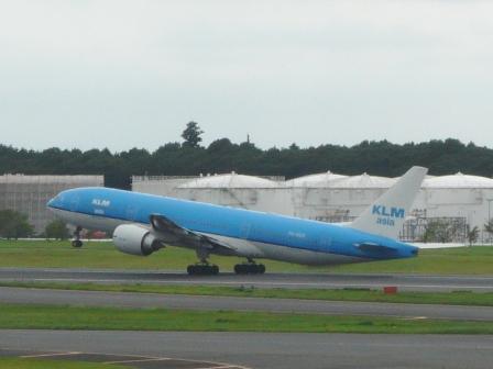 成田空港・見学デッキ KLM オランダ航空 2