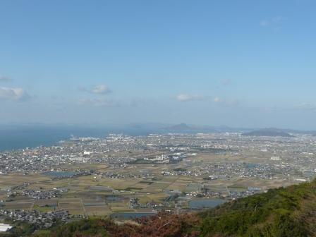 谷上山展望台からの眺め 2