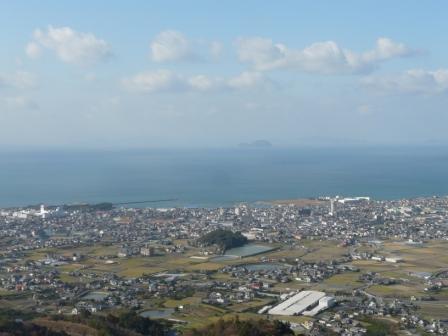 谷上山展望台からの眺め 1