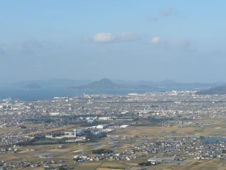 谷上山展望台からの眺め 3