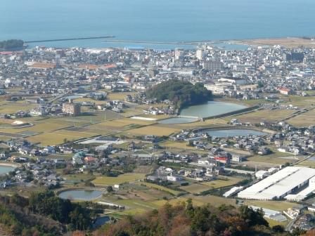 谷上山展望台からの眺め 4