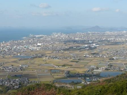 谷上山展望台からの眺め 5