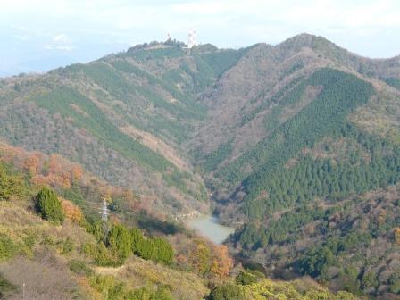 谷上山展望台からの眺め 6