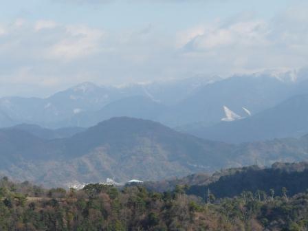 谷上山展望台からの眺め 7