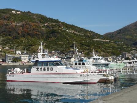 愛媛県警察船 「みさき」