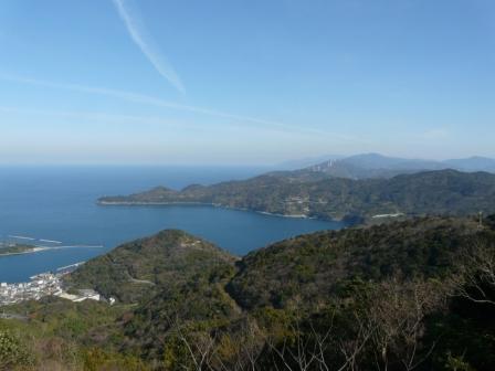 佐田岬半島 権現山展望台とその付近からの眺望 2