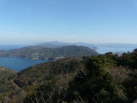 佐田岬半島 権現山展望台とその付近からの眺望 3