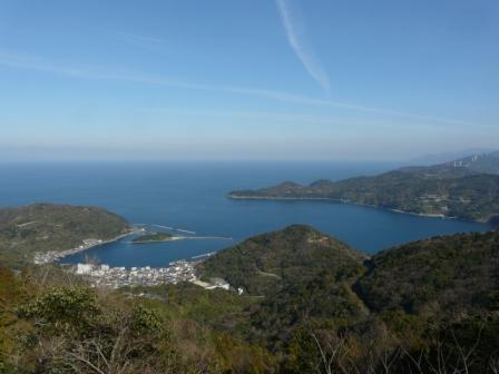 佐田岬半島 権現山展望台とその付近からの眺望 6