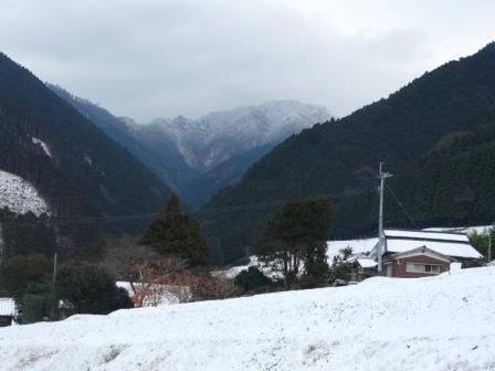 東温市上林 雪景色 3