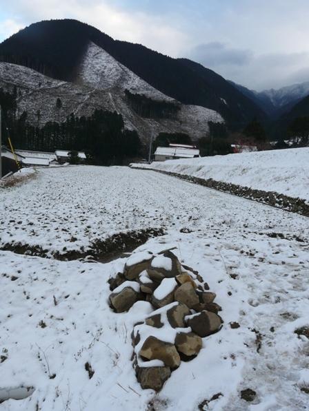 東温市上林 雪景色 5