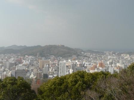 お城山からの眺望 1