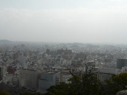 お城山からの眺望 2