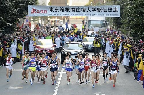 2014年箱根駅伝の平均視聴率が歴代13位を記録