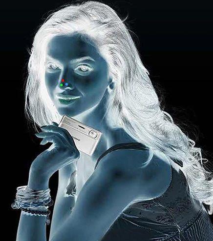 ネガ女性写真がカラーにfc2