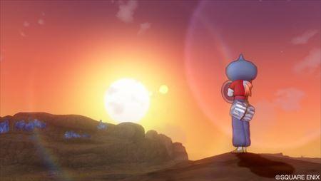 デマトードの夕日とオモパラ_R