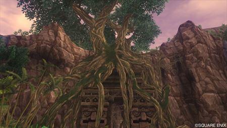 ジャイラ密林 大樹の根元前_R