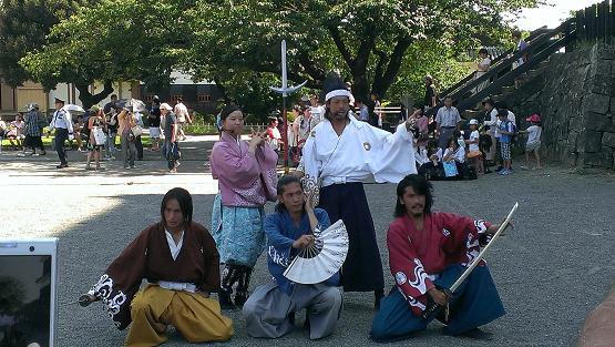 熊本旅行:おもてなし武将隊