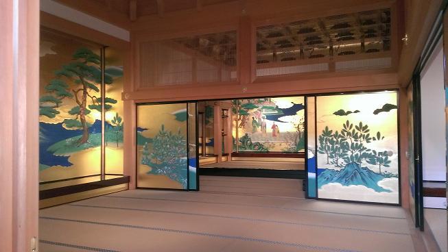 熊本旅行:熊本城 本丸御殿 昭君之間