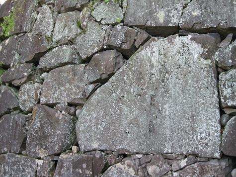 熊本旅行:熊本城 不開門 石垣