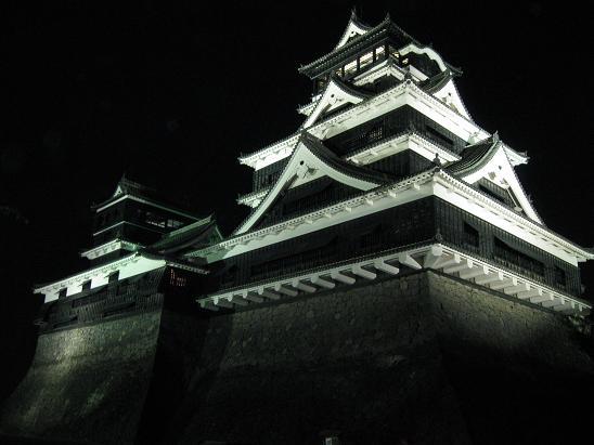 熊本旅行:熊本城 ライトアップ④