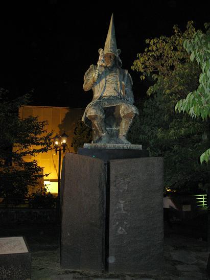 熊本旅行:熊本城 加藤清正 銅像