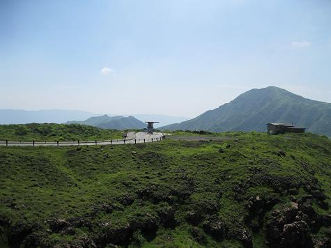 熊本旅行:阿蘇山火口観光 阿蘇山ロープウェイ 眺望3