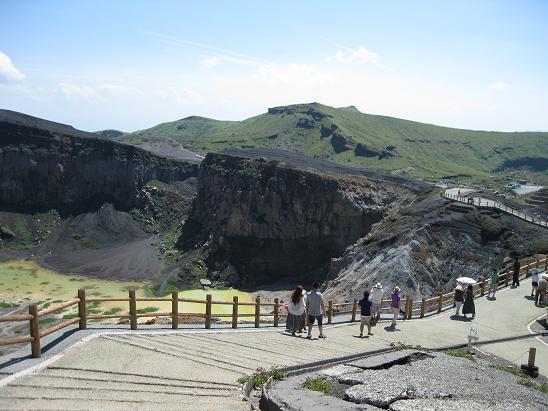 熊本旅行:阿蘇山火口観光3