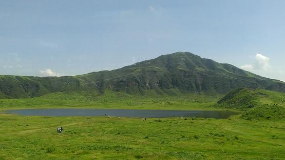 熊本旅行:阿蘇山火口観光 風景