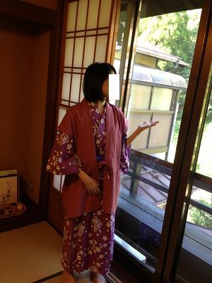 熊本旅行:黒川温泉 いこい旅館 浴衣
