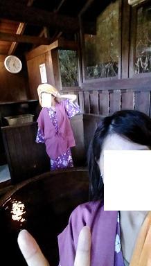 熊本旅行:黒川温泉 いこい旅館 桶風呂2