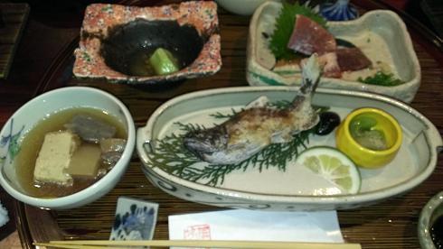 熊本旅行:黒川温泉 いこい旅館 夕食2