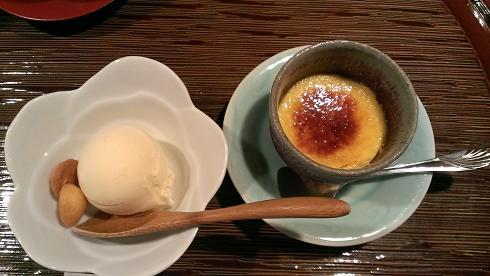 熊本旅行:黒川温泉 いこい旅館 夕食 デザート