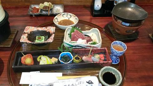 熊本旅行:黒川温泉 いこい旅館 夕食