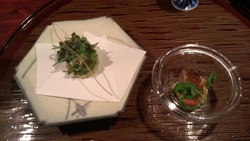 熊本旅行:黒川温泉 いこい旅館 夕食 天ぷら