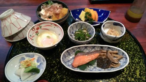 熊本旅行:黒川温泉 いこい旅館 朝食