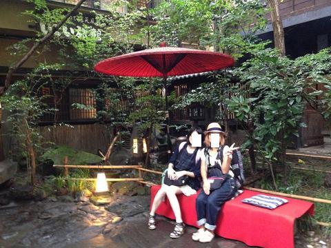 熊本旅行:黒川温泉 いこい旅館 和傘