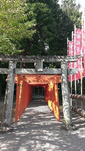 熊本旅行:水前寺成趣園 稲荷神社