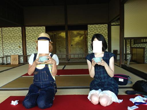 熊本旅行:水前寺成趣園 古今伝授の間(こきんでんじゅのま)2